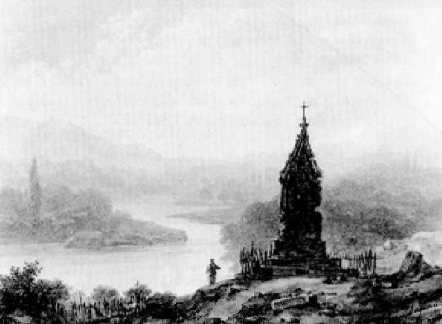 paysage fluvial by louis jaques mandé daguerre