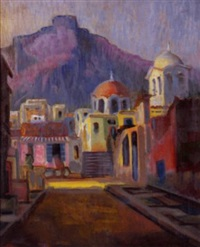 view of nafplio by ioakim varnalis