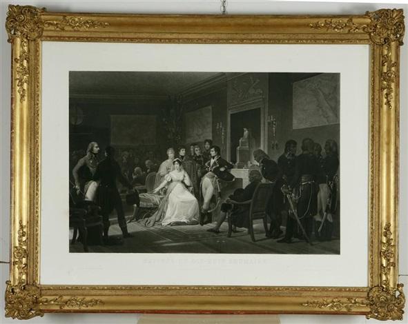 episodi della vita di napoleone bonaparte matinée du dix hiut brumaire divorce de limpératrice joséphine by jazet