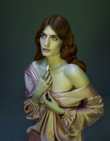florence welch i by nadav kander