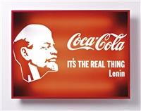 lenin coca-cola by alexander kosolapov