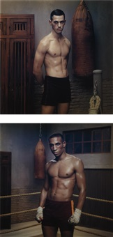hope portraits, vii and viii (2 works) by erwin olaf