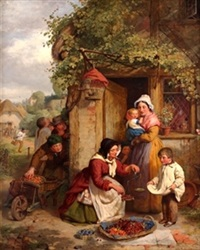 the cherry seller by george smith