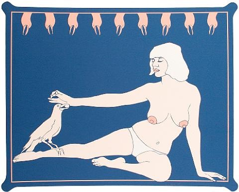 bird lady by john wesley