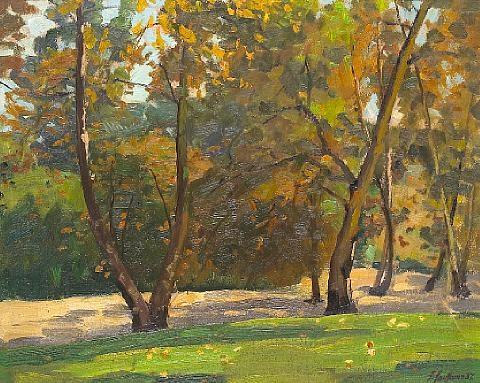 sycamore grove pasadena california by ferdinand kaufmann