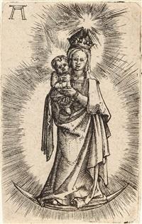 die maria auf dem halbmond by albrecht altdorfer