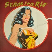senorita rio (from one cent life) by mel ramos