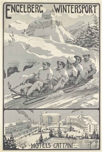 engelberg wintersport, hotels cattani by wilhelm amrhein