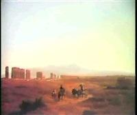 l'agro romano by pierre louis dubourcq