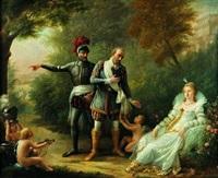 henri iv quittant gabrielle d'estrée by mademoiselle rivière