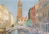 venice, rio st. barbius by anthony fleming