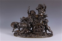 the vine chariot by frédérick eugène piat
