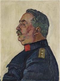 portrait general ulrich wille by ferdinand hodler