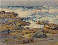 the dancing sea, mussel rocks, laguna beach by anna althea hills