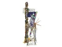 wire hanger chair (vesta) by lucas samaras