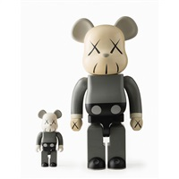 be@rbrick 1000% /400 by kaws