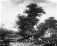 near esher, surrey by t. colson