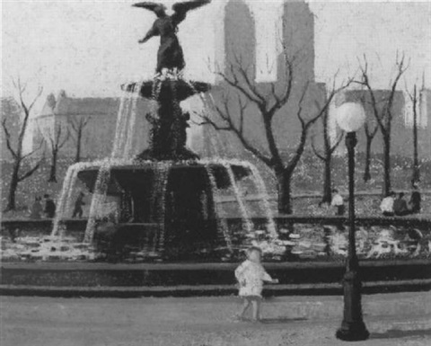 fountain central park by emma fordyce macrae