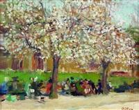 les arbres en fleurs by arthur fillon