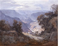 the grand canyon by carl oscar borg