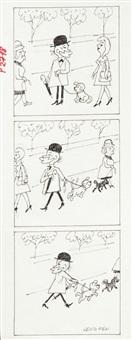 filutek, ilustracja do czasopisma przekrój nr 30 (nr 2718) by zbigniew lengren