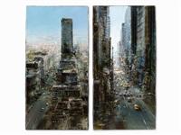 new york (2 works) by luigi rocca