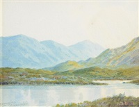 lough anure, co. donegal by douglas alexander