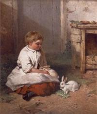 pet rabbits by james cassie