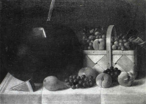 still life with watermelon by austin c wooster