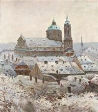 winter in the lesser quarter by jaroslav simunek