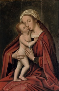 the virgin and child by adriaen isenbrant