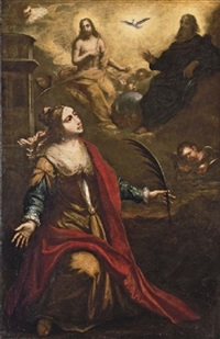 saint barbara by d. andres de aragon