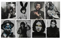 images of rock-n-roll (8 works) by david flores