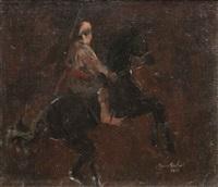 horseman by avni arbas
