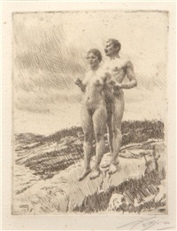 the two by anders zorn
