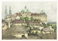 klosterneuburg monastery, austria, october by luigi kasimir
