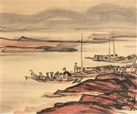 sur le lac by lin fengmian