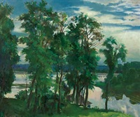 landscape by mikhail gurin