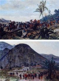la charge de l'infanterie et de la cavalerie francaise en amérique du sud by paul léon jazet