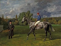 corelli ii with jockey and a gentleman by richard benno adam