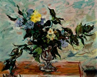 bodegón de flores by ricardo macarrón