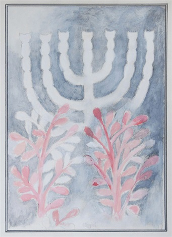 menorah by vladimir komarek