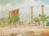 athenian ruins by stelios miliadis
