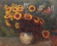 spring flowers by samuel mützner