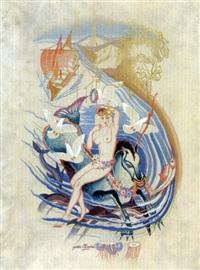 naissance de vénus by gaston andre