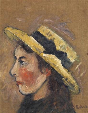 portrait dyvonne loiseau by gustave loiseau