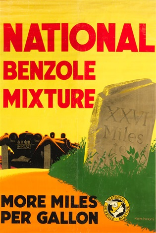 National Benzole Mixture More Miles Per Gallon By Tom Purvis