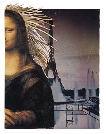 untitled mona lisa by david hammons