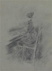 donna al pianoforte by giovanni boldini