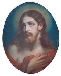 christ en buste by théodore fantin-latour